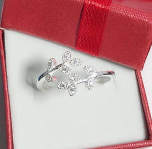 Adjustable Ring R068 92.5 Italy silver