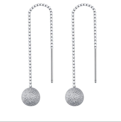 Dangling Earrings DE37 92.5 Italy silver