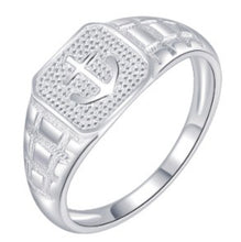 Load image into Gallery viewer, Mens  Ring 92.5 Italy silver
