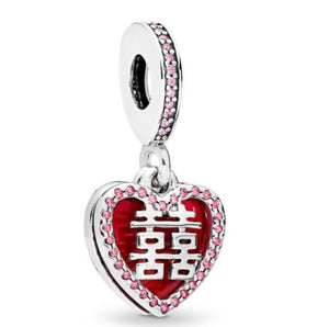 Chinese Pandora charm 92.5 Italy silver