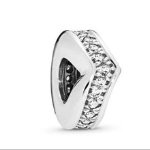 Load image into Gallery viewer, Love Pandora charm 92.5 Italy silver