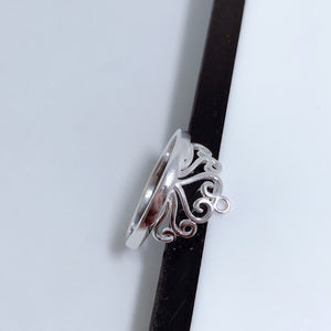 Crown Ring R085 92.5 Italy silver