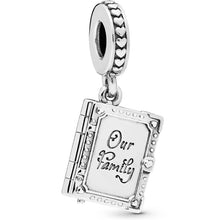 Load image into Gallery viewer, Book Pandora charm 92.5 Italy silver