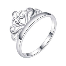 Load image into Gallery viewer, Crown Ring R085 92.5 Italy silver