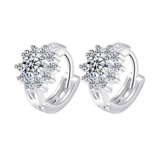 Load image into Gallery viewer, Clip Earrings CE74  92.5 Italy silver