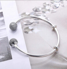 Load image into Gallery viewer, Silver Bangle  92.5 Italy silver