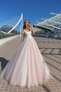 Valencia Dreams 'Debra' Elly Haute Couture RTW MB-068-295 Ready To Wear European Bridal Wedding Gown Designer Philippines