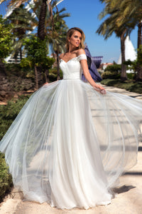 Valencia Dreams 'Nancy' Elly Haute Couture RTW MB-088-285 Ready To Wear European Bridal Wedding Gown Designer Philippines