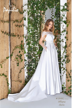 Load image into Gallery viewer, Papilio Bridal Wedding Dress SALE Collection RTW White Premium 1840L-200 (Size 38)