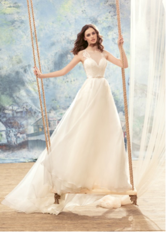 Papilio Bridal Wedding Dress SALE Collection RTW 1711L-200 (Size 38)