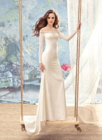 Papilio Bridal Wedding Dress SALE Collection RTW 1712-100 (Size 36)