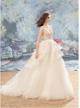 Load image into Gallery viewer, Papilio Bridal Wedding Dress SALE Collection RTW 1739L-2-40 (Size 38)