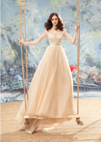Papilio Bridal Wedding Dress SALE Collection RTW 1742-150 ( Cream Size 38, Nude Size 38, and White Size 38 and 40)