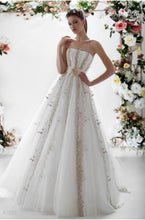 Load image into Gallery viewer, Papilio Bridal Wedding Dress SALE Collection RTW 1232-60 (Size 38)
