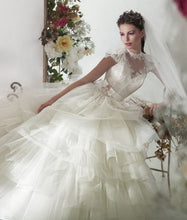 Load image into Gallery viewer, Papilio Bridal Wedding Dress SALE Collection RTW 1226-100 (Size 36)