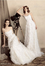 Load image into Gallery viewer, Papilio Bridal Wedding Dress SALE Collection RTW 1305-60 (Size 36,38)