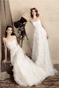 Papilio Bridal Wedding Dress SALE Collection RTW 1305-60 (Size 36,38)