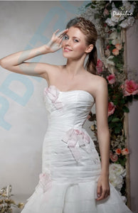 Papilio Bridal Wedding Dress SALE Collection RTW 1226-60 (Size 38)
