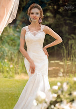 Load image into Gallery viewer, Papilio Bridal Wedding Dress SALE Collection RTW 1457-40 (Size 38)