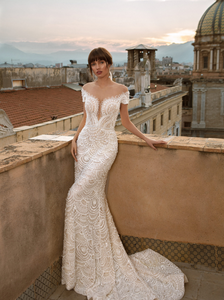 Sicilia 'Annetta Bordonaro' Innocentia RTW INL2001-1400 Ready To Wear European Bridal Wedding Gown Designer Philippines