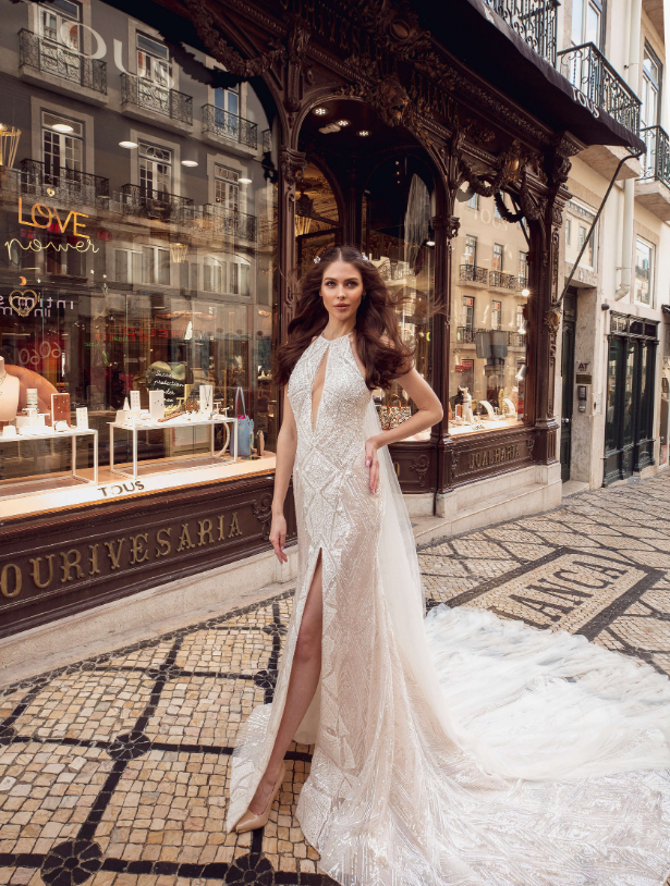 Lisboa 'Estefania De Hohenzollern' Innocentia RTW INLI 1907-1090 Ready To Wear European Bridal Wedding Gown Designer Philippines