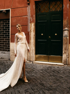 Roma 'Guilia Domna' Innocentia RTW INLI 1805-1200 Ready To Wear European Bridal Wedding Gown Designer Philippines