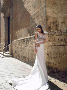 Alma De Valencia 'Anita' Innocentia RTW INLI 2003-430 Ready To Wear European Bridal Wedding Gown Designer Philippines
