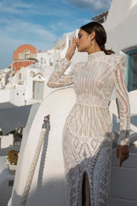 Santorini Vibes Ricca Sposa RTW 21-018-595 Ready To Wear European Bridal Wedding Gown Designer Philippines
