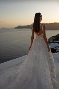 Santorini Vibes Ricca Sposa RTW 21-013-895 Ready To Wear European Bridal Wedding Gown Designer Philippines