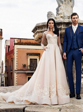 Load image into Gallery viewer, Taormina 'Sebastiana' Innocentia RTW INW 1921-490 Ready To Wear European Bridal Wedding Gown Designer Philippines