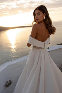 Santorini Vibes Ricca Sposa RTW 21-021-450 Ready To Wear European Bridal Wedding Gown Designer Philippines