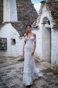 Italian Dream 'Melanie' Nora Naviano Sposa RTW 20017-392S Ready To Wear European Bridal Wedding Gown Designer Philippines