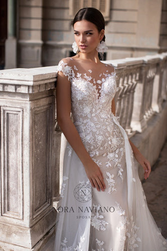 Italian Dream 'Mavine' Nora Naviano Sposa RTW 20002- Ready To Wear European Bridal Wedding Gown Designer Philippines