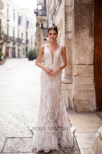 Italian Dream 'Madonna' Nora Naviano Sposa RTW 18297 Ready To Wear European Bridal Wedding Gown Designer Philippines