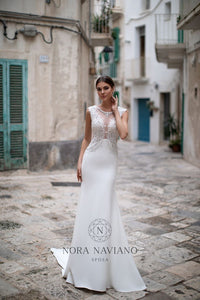 Italian Dream 'Matty' Nora Naviano Sposa RTW 19024-106 Ready To Wear European Bridal Wedding Gown Designer Philippines