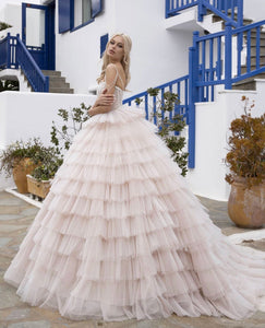Santorini Vibes Ricca Sposa RTW 21-001-1290 Ready To Wear European Bridal Wedding Gown Designer Philippines
