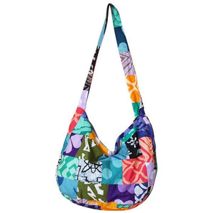 Global Crafts - Globe Trotter Bag Patchwork - Global Mamas (P)