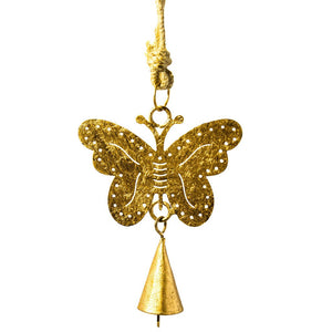 Global Crafts - Butterfly Cutout Chime - Mira (Bell)