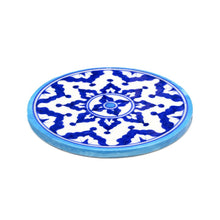 Load image into Gallery viewer, Global Crafts - Blue Pottery Trivet - Indigo - Matr Boomie (Pottery)
