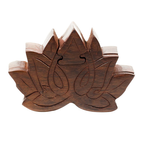 Global Crafts - Lotus Puzzle Box - Matr Boomie (B)