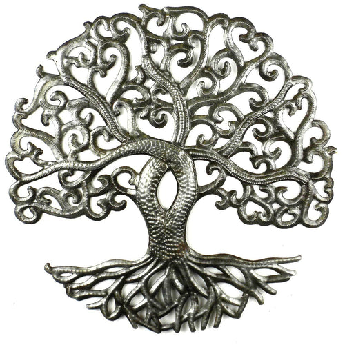 Global Crafts - 14 inch Tree of Life Curly - Croix des Bouquets
