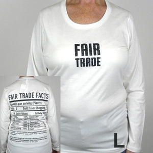 Global Crafts - Fair Trade Fitted Tee Shirt with Long Sleeve - Freeset