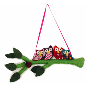 Global Crafts - Bright Owls on a Branch - Bright - Global Groove