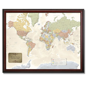 The Personalized Travel Map