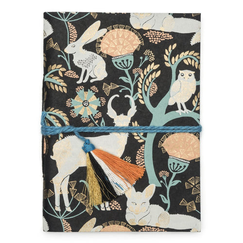 Global Crafts - Fauna Journal - Brown Brama - Matr Boomie (J)