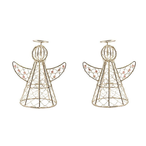 Global Crafts - Halo Angels Set of Two - Mira (D)