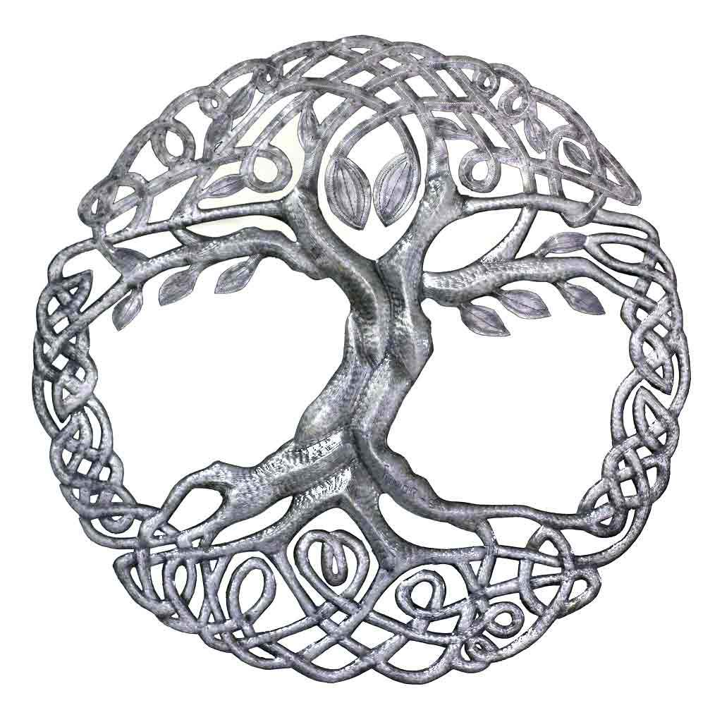 Global Crafts - Celtic Tree of Life Wall Art - Croix des Bouquets