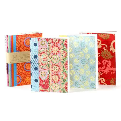 Global Crafts - Ida Travel Journals - Set of 3 - Matr Boomie (J)