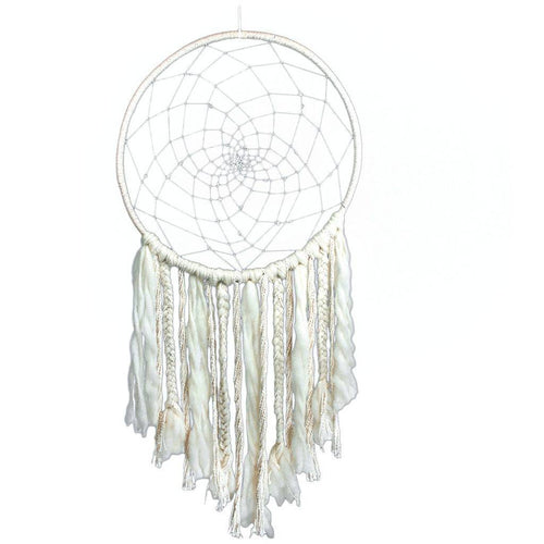Global Crafts - Large Sun Dreamcatcher - DZI (Meditation)