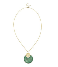 Load image into Gallery viewer, Global Crafts - Tara Stone Crescent Necklace - Matr Boomie (Jewelry)